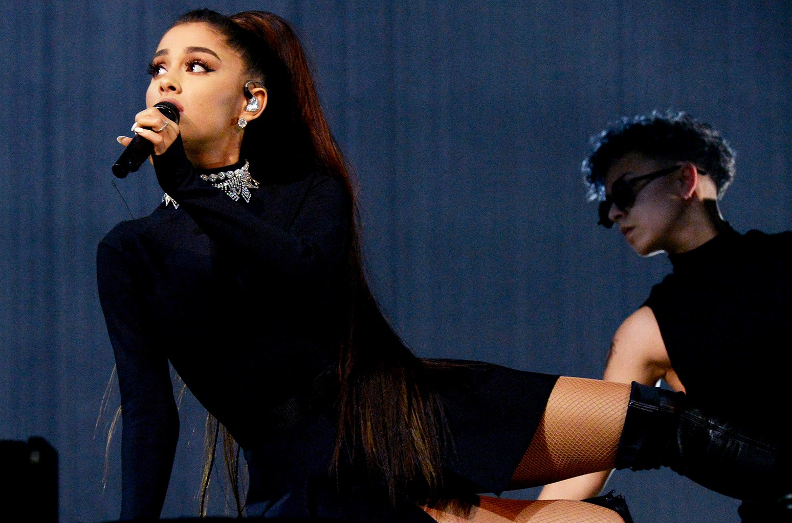 Ariana Grande performs during the Dangerous Woman Tour.