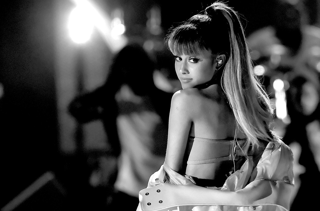 Ariana Grande performs onstage at the 2016 iHeartRadio Music Festival