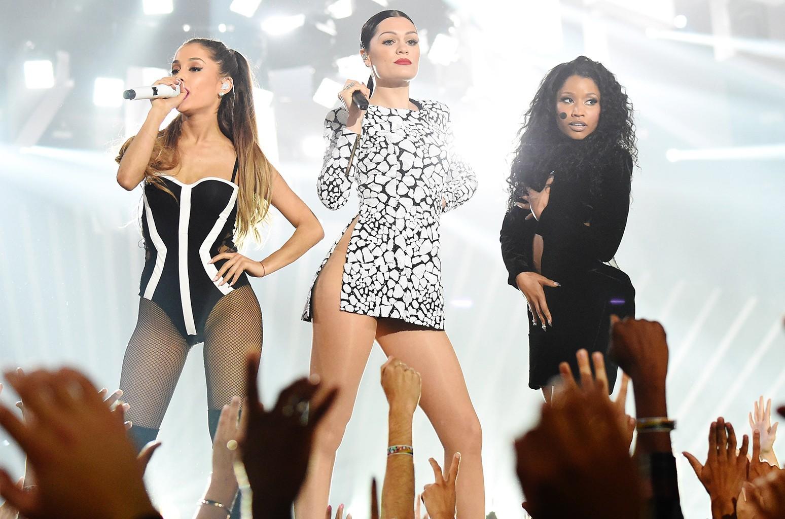 Jessie J, Ariana Grande and Nicki Minaj