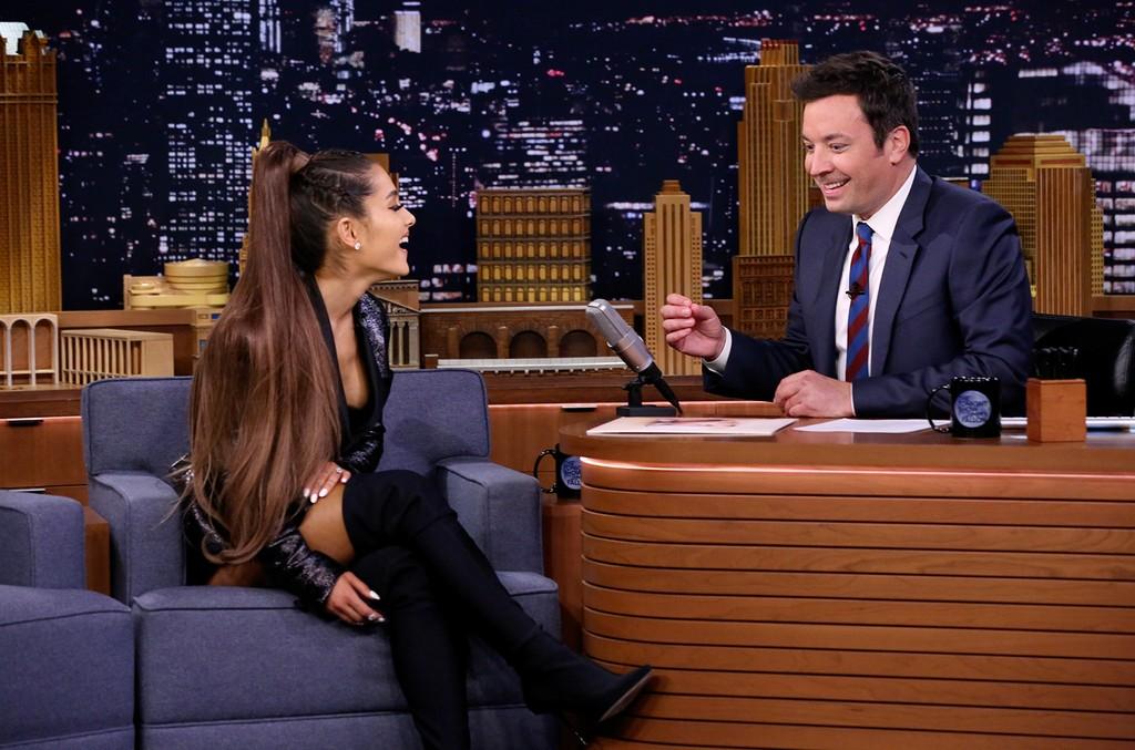 Ariana Grande & Jimmy Fallon