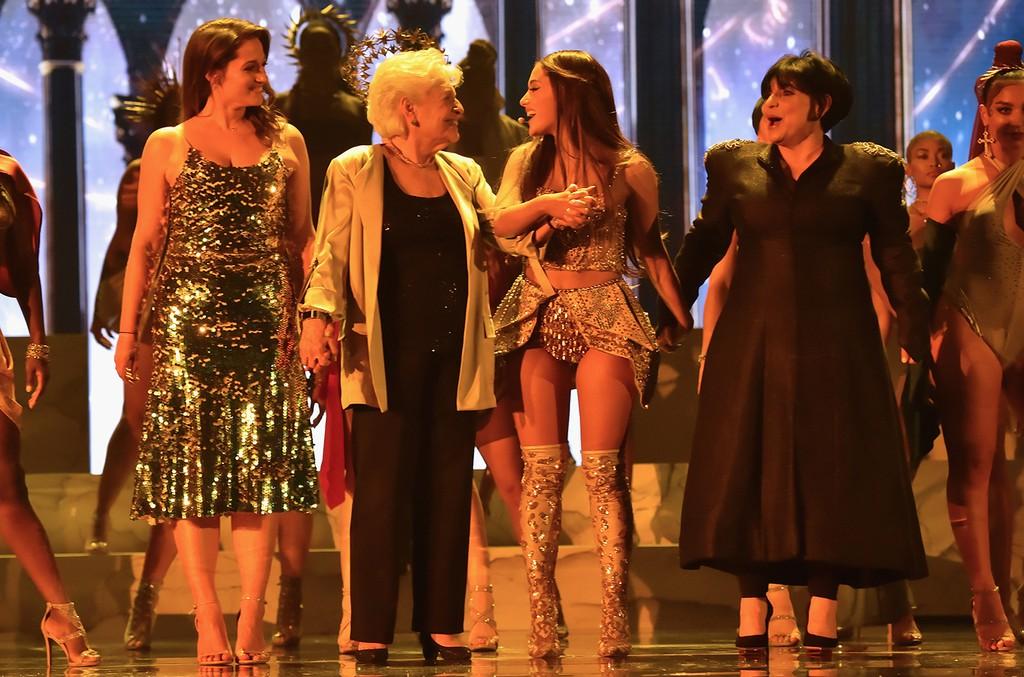 Lani Grande, Marjorie Grande, Ariana Grande and Joan Grande