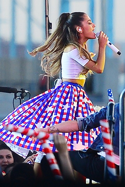 Ariana Grande for Macy's Fourth of July Fireworks Spectacular