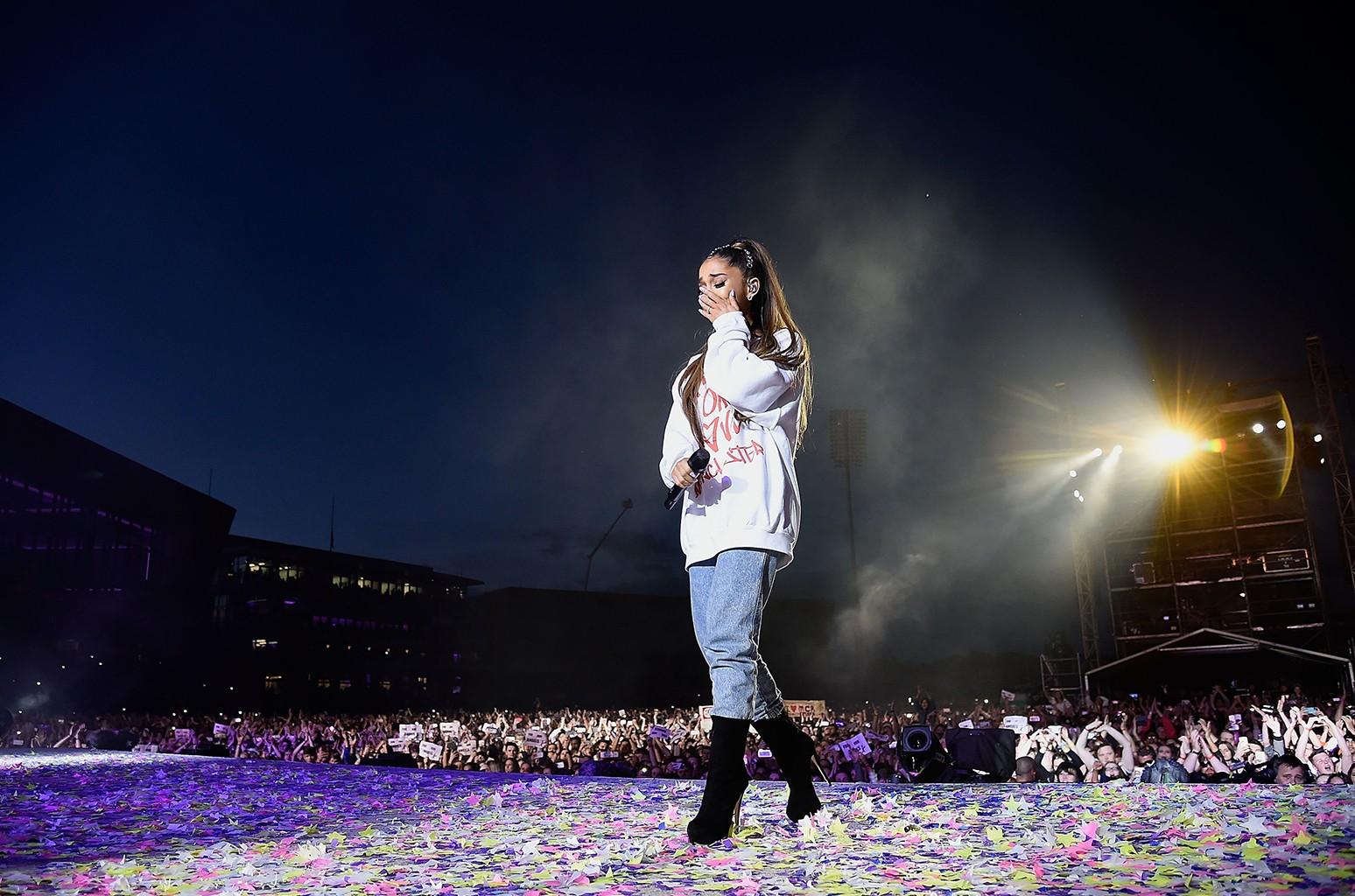 Ariana Grande, 2017