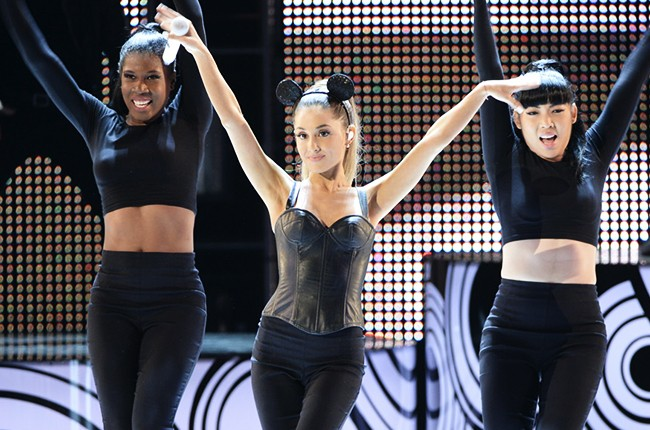 Ariana Grande performs at the 2014 Radio Disney Music Awards