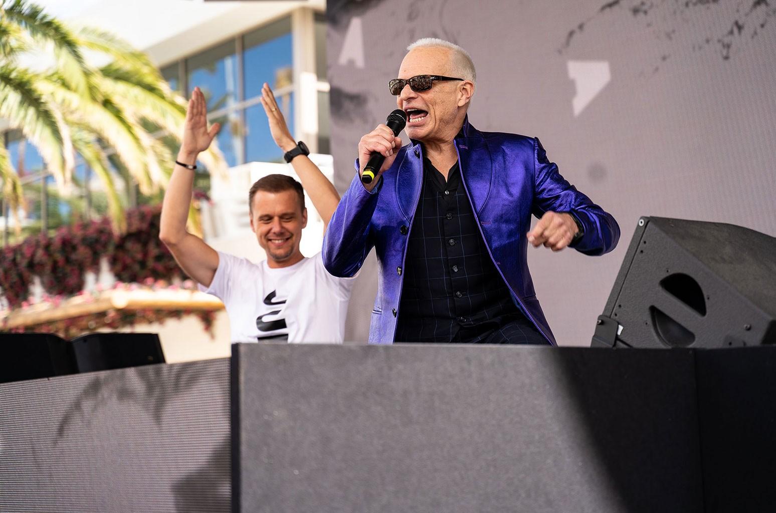 David Lee Roth x Armin van Buuren