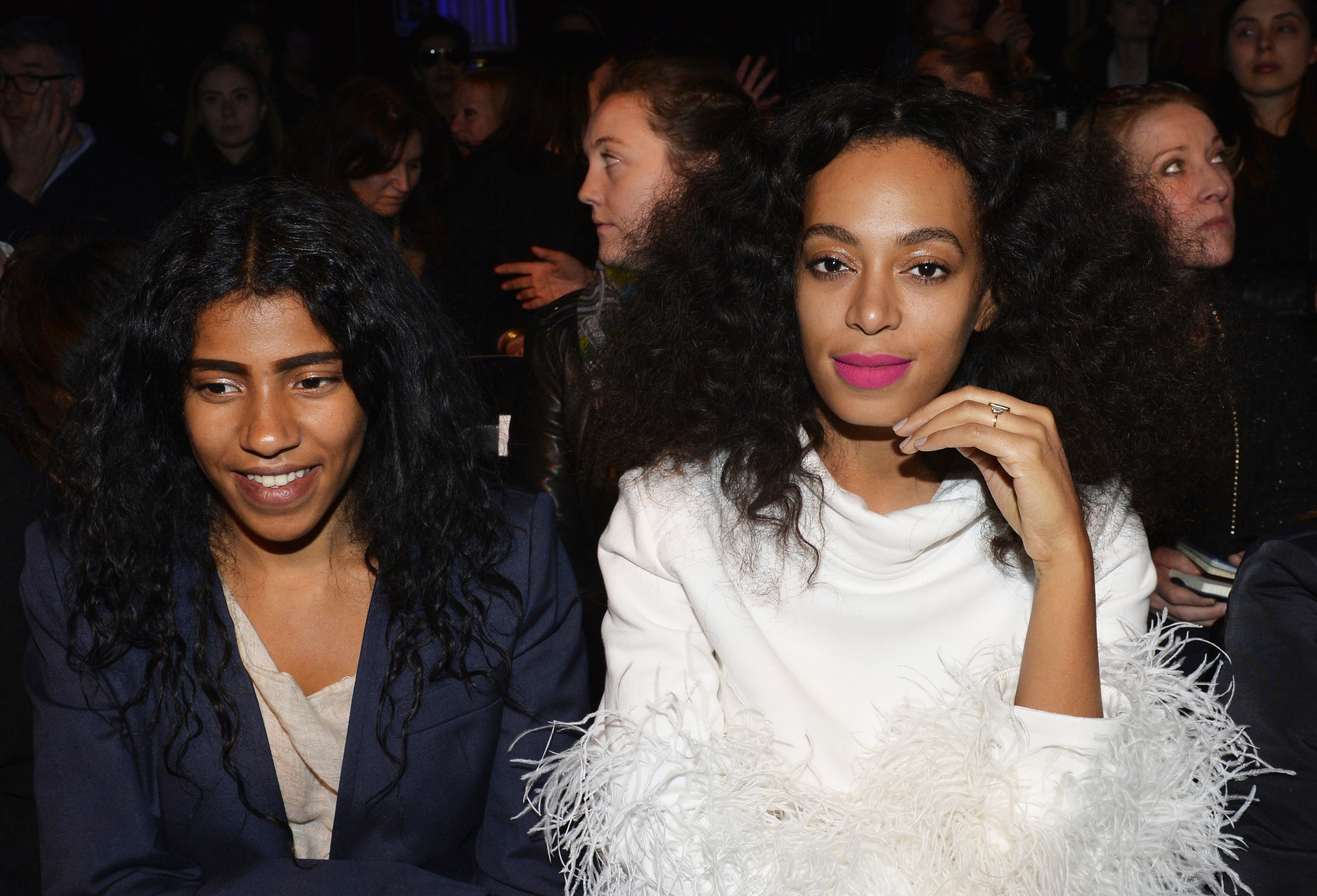 Armina Mussa and Solange Knowles