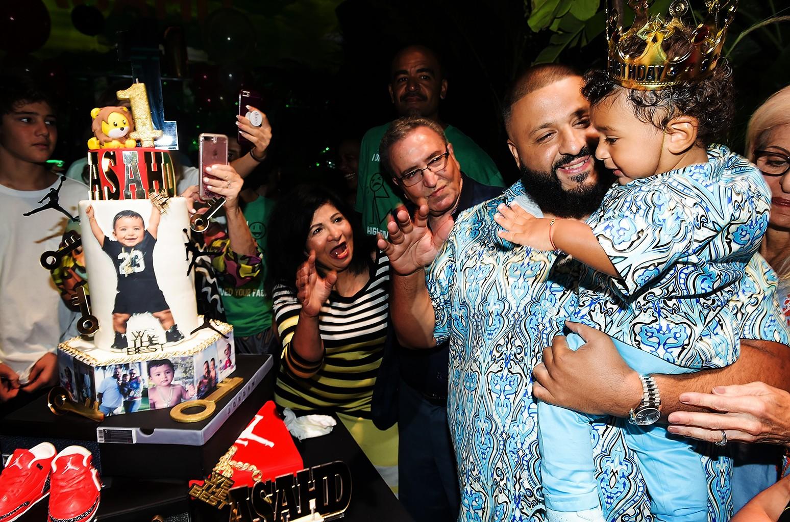 DJ Khaled & Asahd Khaled, 2017