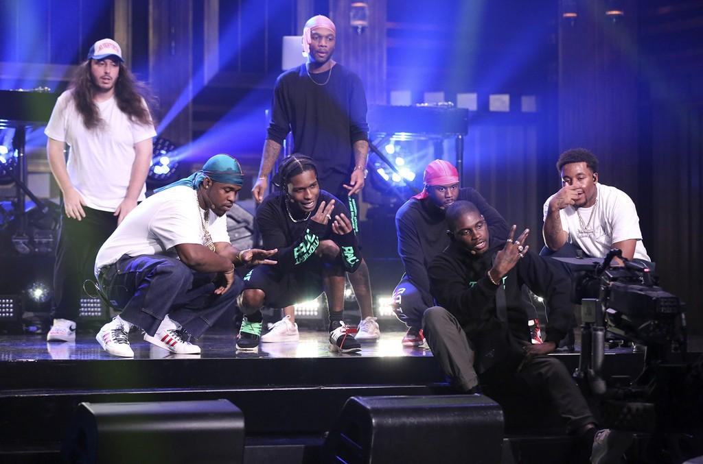 A$AP Mob, The Tonight Show Starring Jimmy Fallon