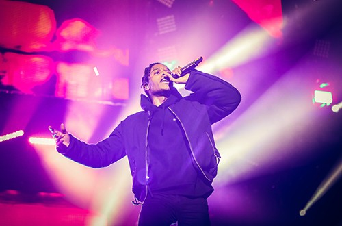 A$AP Rocky performs at The O2 Arena
