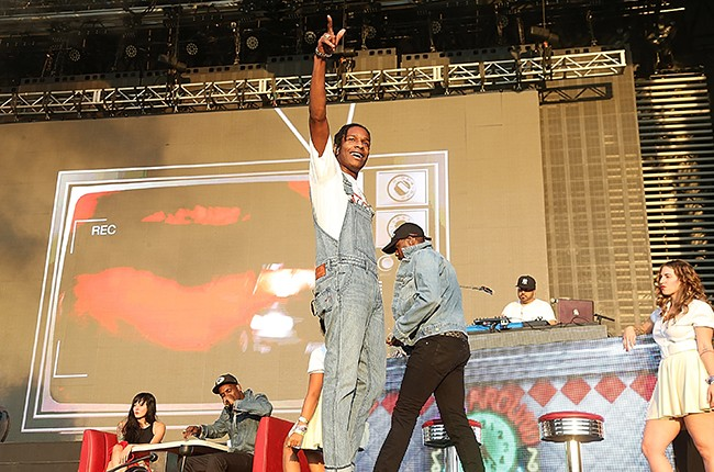 A$AP Rocky performs on the 2nd weekend of the Austin City Limits Music Festival