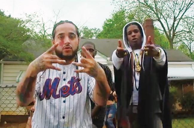 A$AP Yams and A$AP Rocky