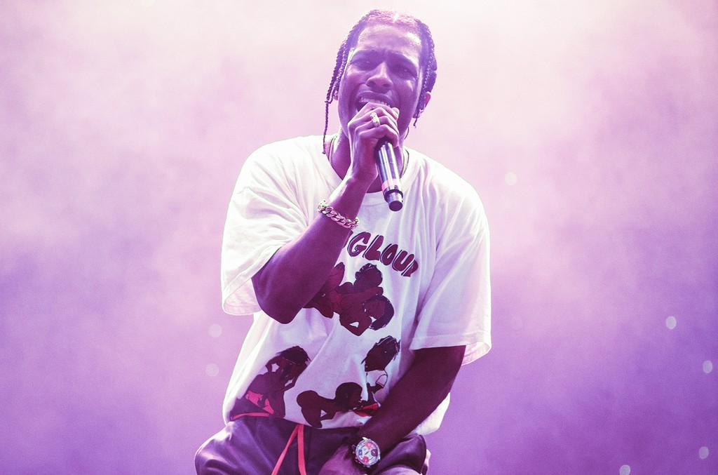 A$AP Rocky performs at the Rolling Loud Music Festival on May 5, 3017 in Miami.