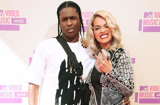 A$AP Rocky and Rita Ora