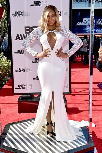 Ashanti at the BET Awards 2014