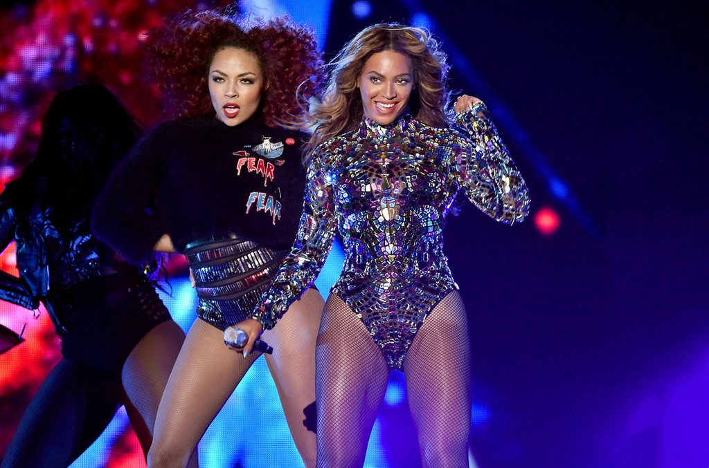 Ashley Everett and Beyonce