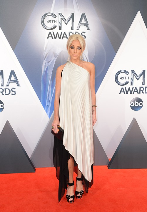 Ashley Monroe attends the 49th annual CMA Awards