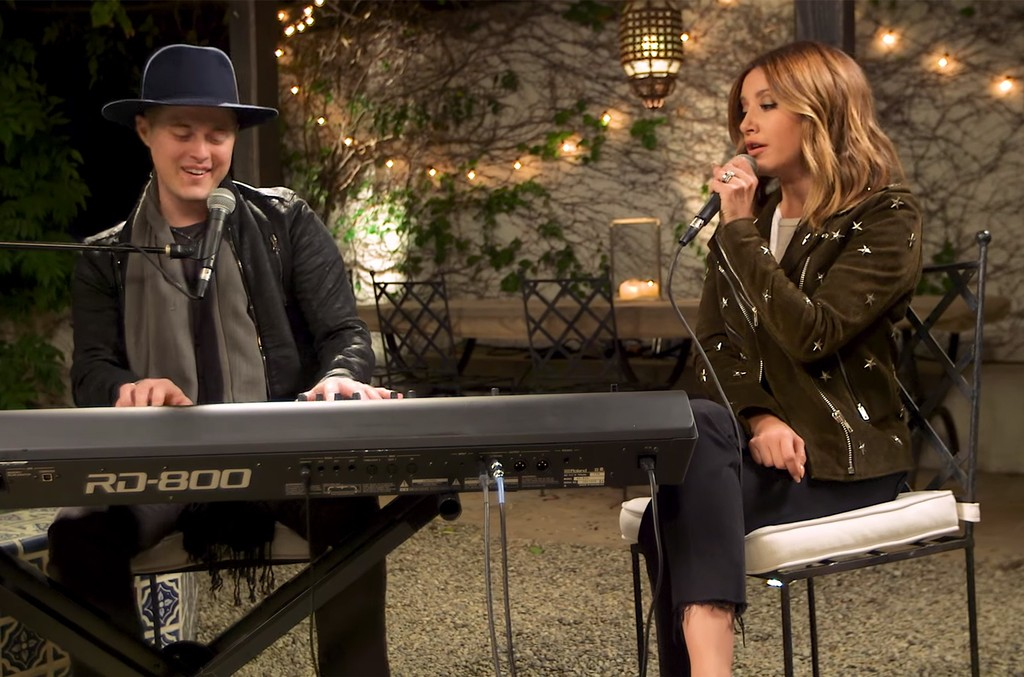 """Music Sessions with Ashley Tisdale ft. Lucas Grabeel, """"What I've Been Looking For"""""""