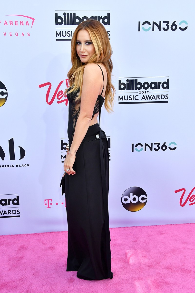 Ashley Tisdale attends the 2017 Billboard Music Awards at T-Mobile Arena on May 21, 2017 in Las Vegas.