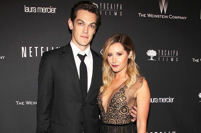 Christopher French and Ashley Tisdale, 2014.