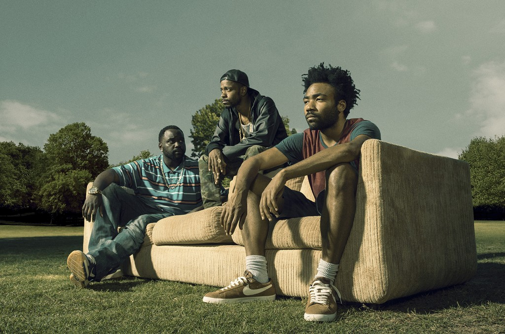 The cast of Atlanta