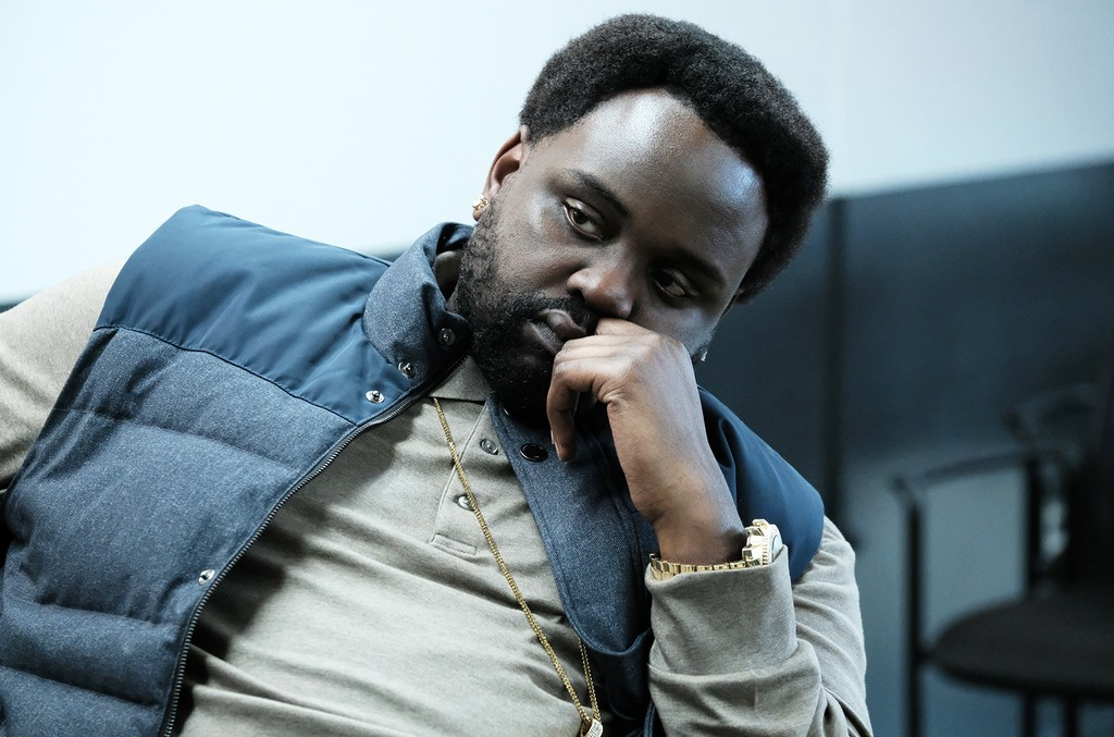 "Brian Tyree Henry as Alfred Miles in the episode ""Barbershop"" of Atlanta."