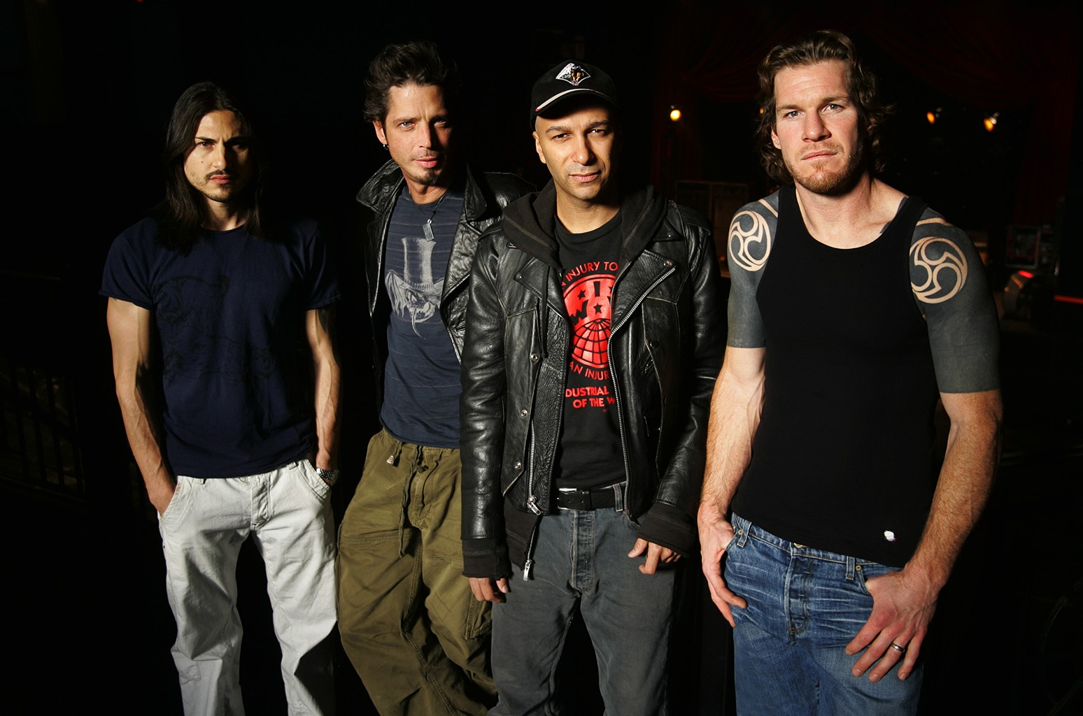 Audioslave photographed on May 1, 2005 in Washington, D.C.