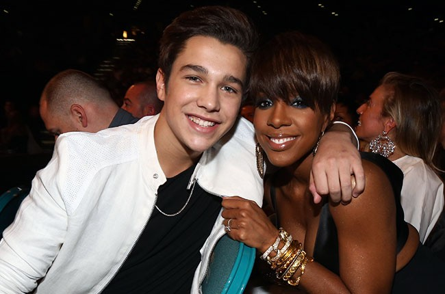Austin Mahone, Kelly Rowland