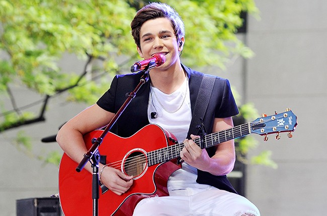 Austin Mahone on the Today Show