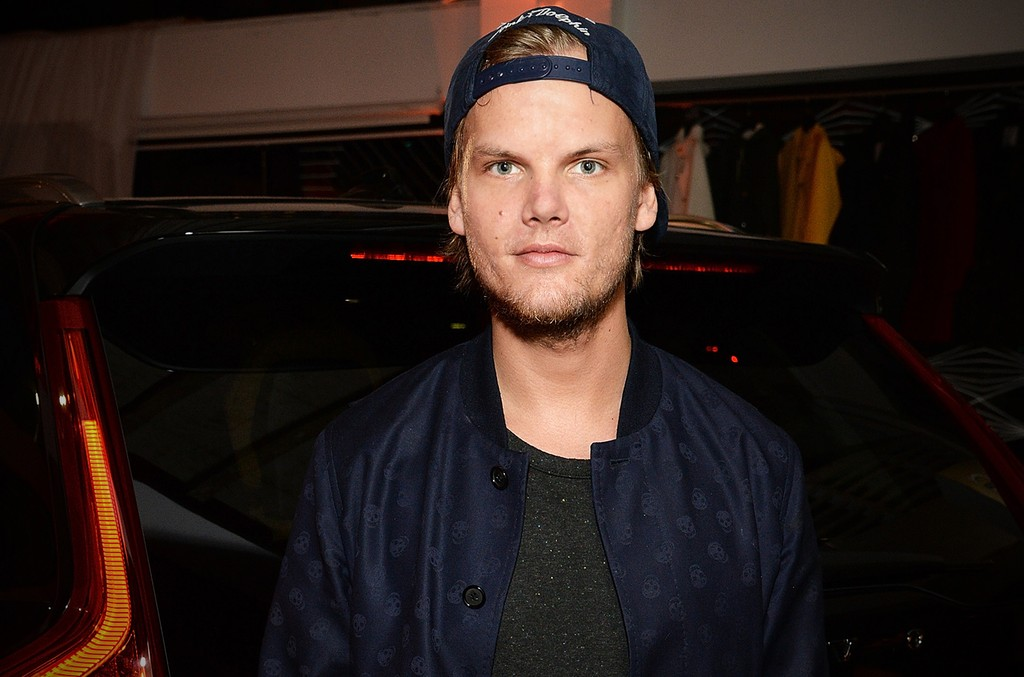 Avicii photographed on May 7, 2015 in Los Angeles.
