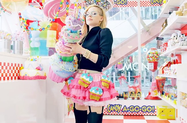 Avril Lavigne's Hello Kitty Music Video