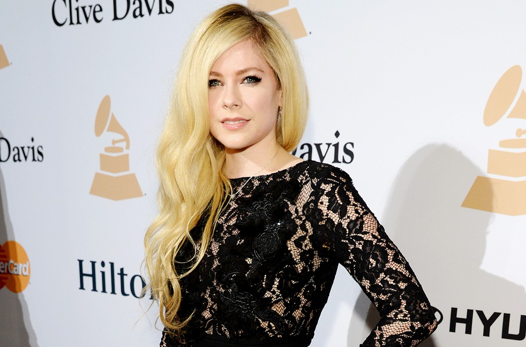 Avril Lavigne attends the 2016 Pre-Grammy Gala and Salute to Industry Icons honoring Irving Azoff at The Beverly Hilton Hotel on Feb. 14, 2016 in Beverly Hills, Calif.