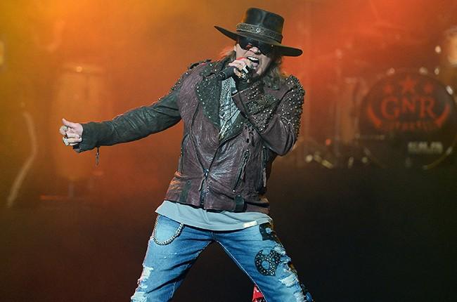 Axl Rose of Guns N' Roses 2016