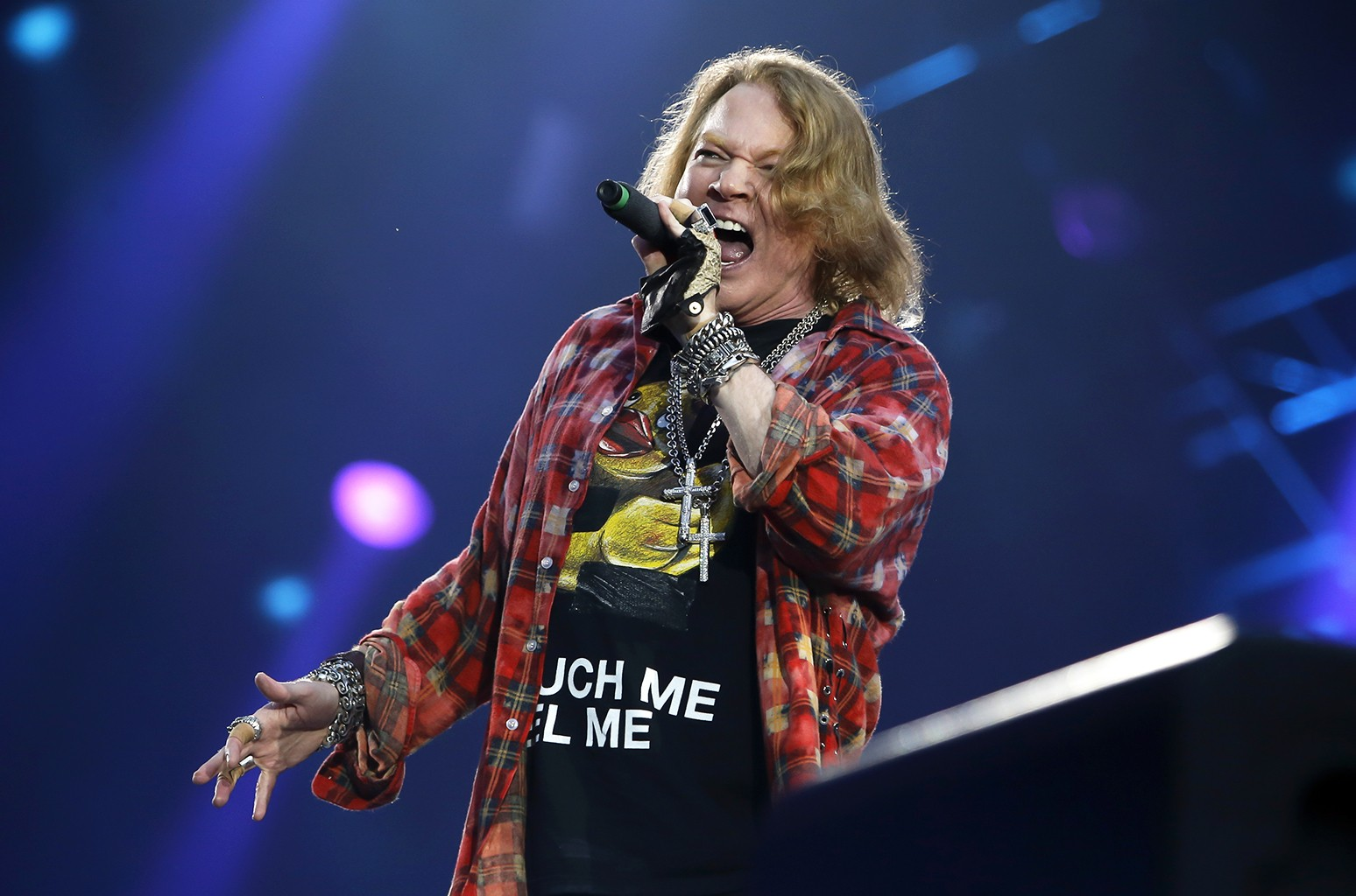 Axl Rose performs in 2016