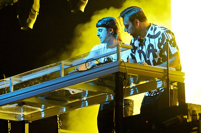 Axwell and Sebastian Ingrosso at Governors Ball