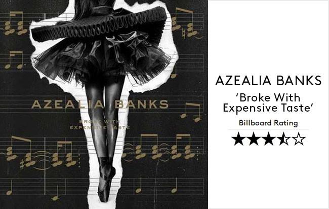 Azealia Banks--- Broke With Expensive Taste Album Review