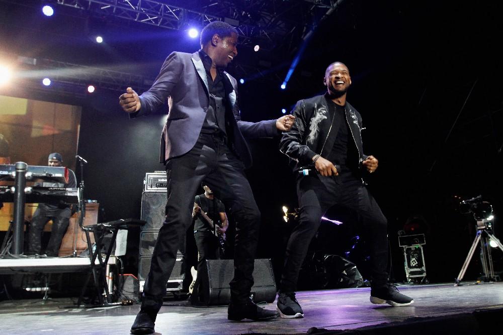 Babyface & Usher at Jazz in the Gardens