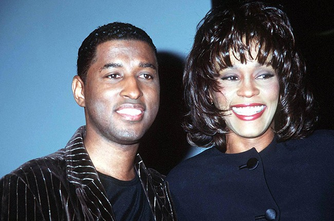 "Whitney Houston and Kenneth ""Babyface"" Edmonds"
