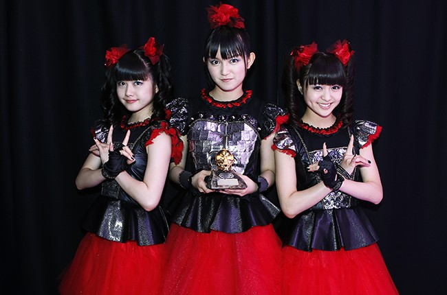 Babymetal win Breakthrough Award at the Metal Hammer Golden Gods awards 2015