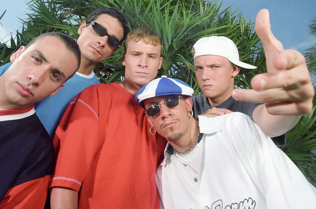 The Backstreet Boys photographed in 1997.