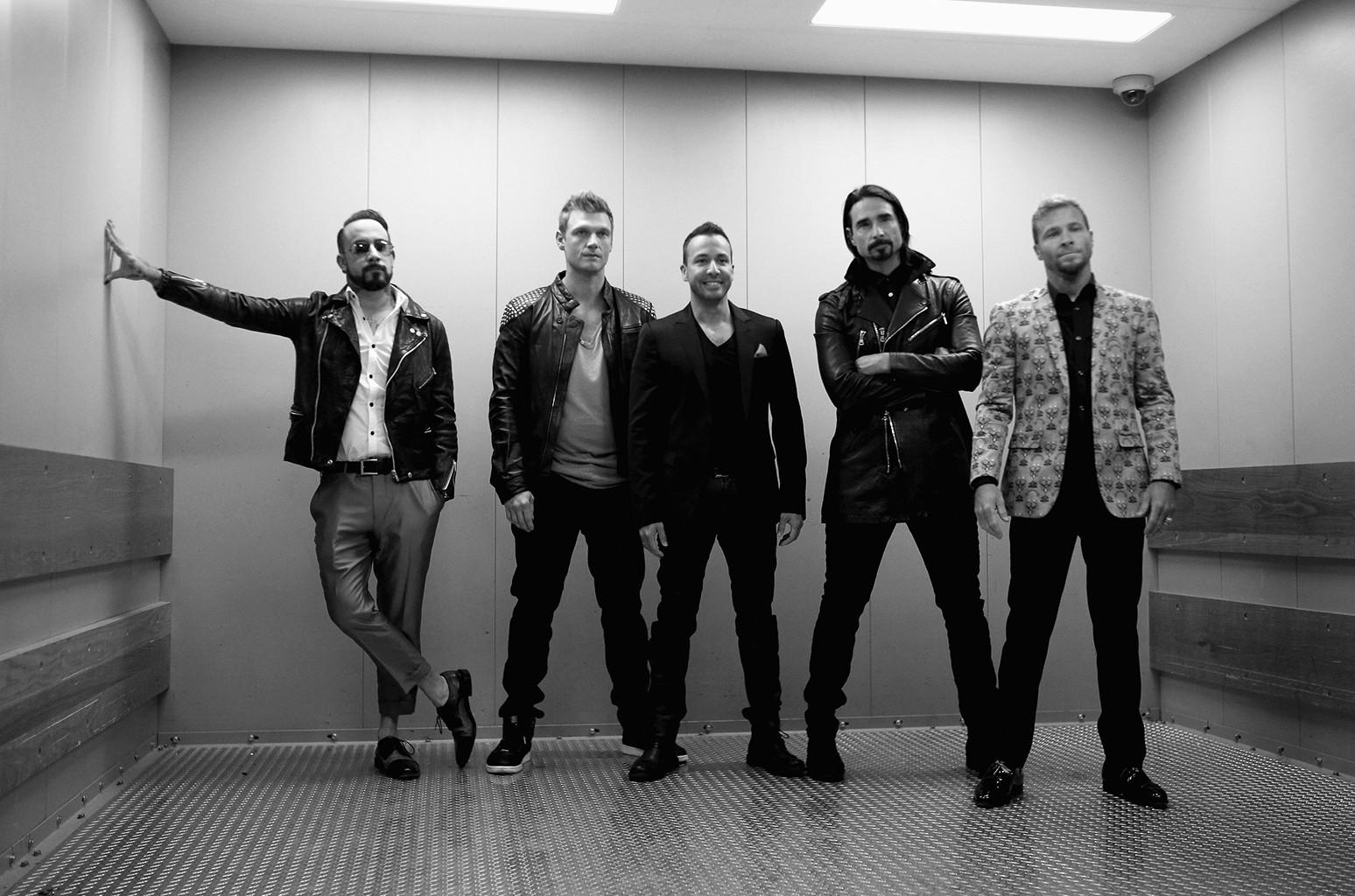 Backstreet Boys attend the 2016 iHeartRadio Music Festival