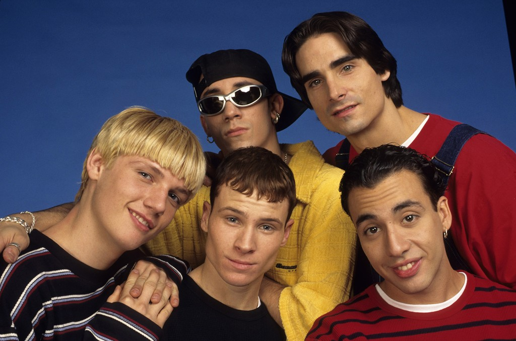 Backstreet Boys photographed in 1997.