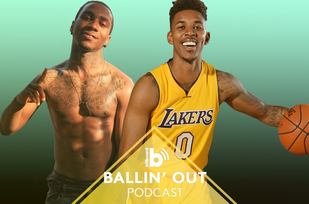 Ballin' Out Podcast featuring: Lil B and Nick Young