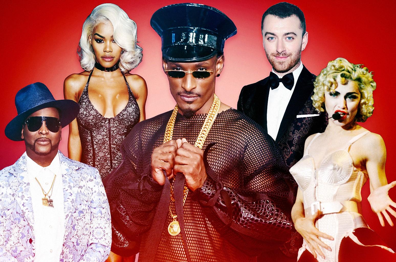 Sam Smith, Madonna, Dashaun Wesley, Jack Mizrahi & Teyana Taylor