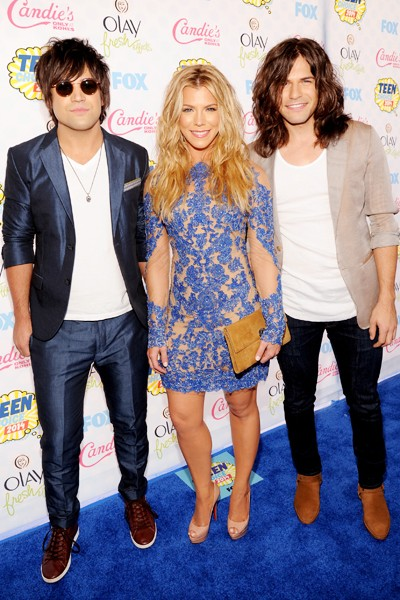 The Band Perry attend FOX's 2014 Teen Choice Awards