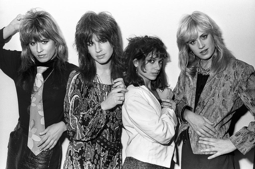 The Bangles photographed on Feb. 23, 1986.