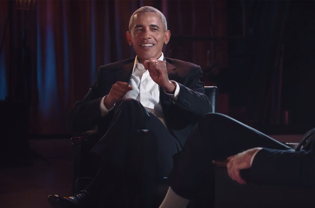 Barack Obama on My Next Guest Needs No Introduction with David Letterman