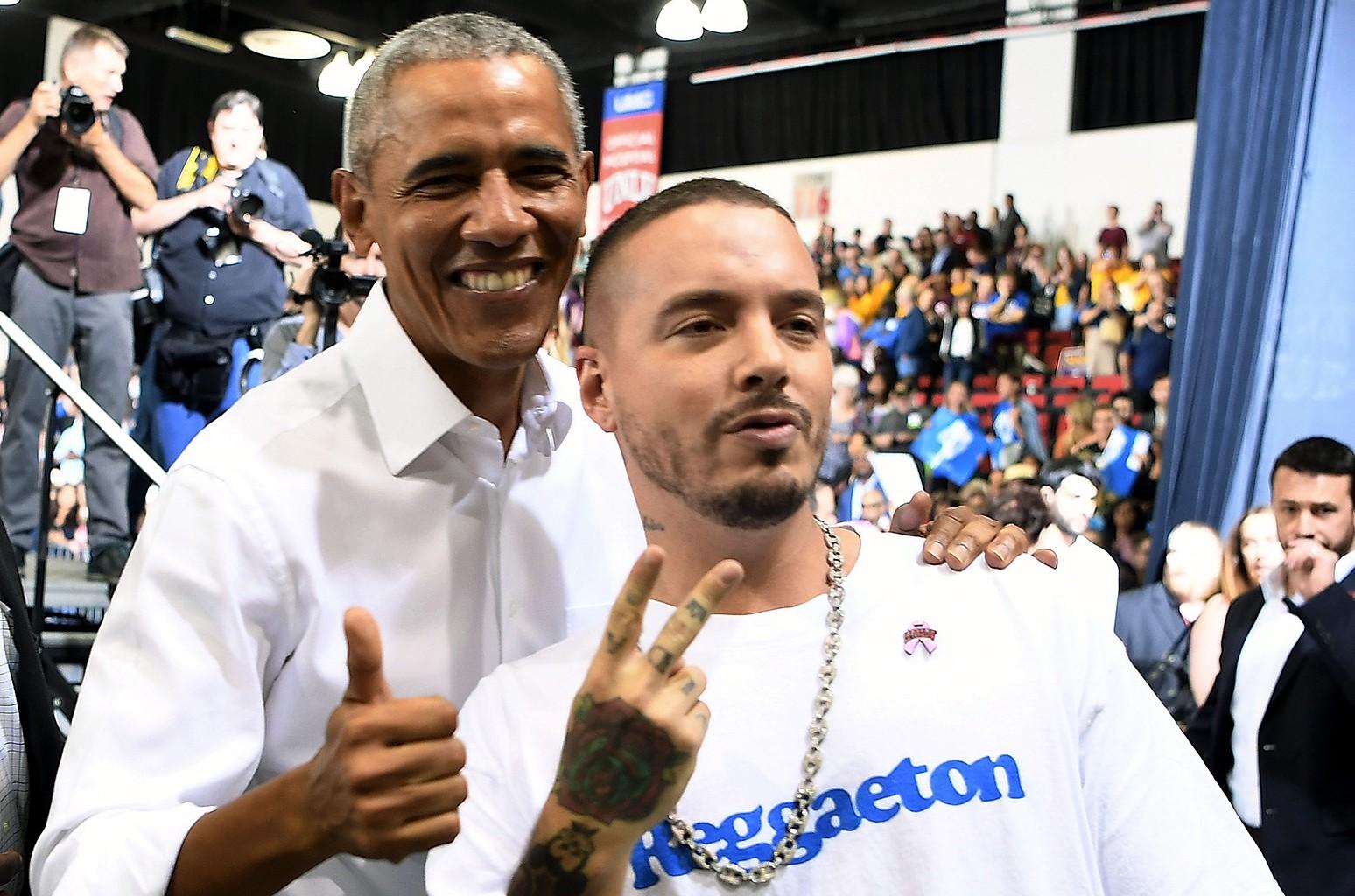 Barack Obama J Balvin