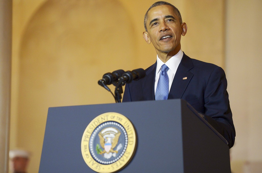 President Barack Obama at the Nordic Leaders Summit
