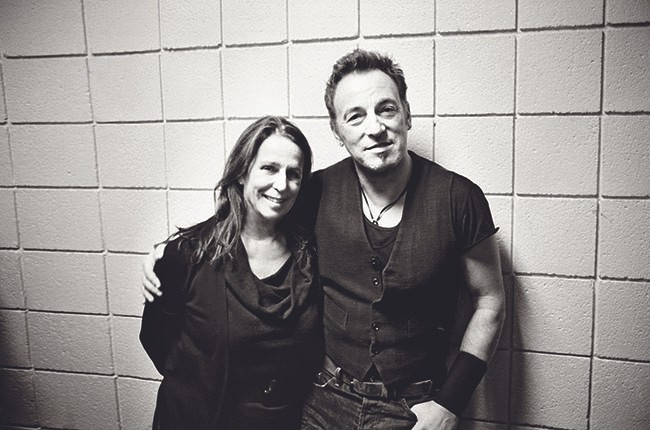 Barbara Carr and Bruce Springsteen