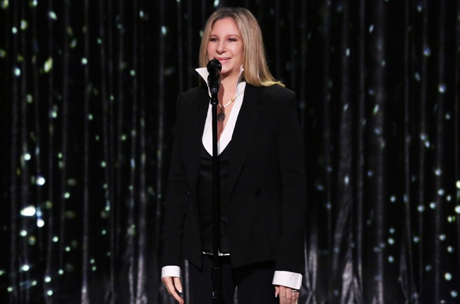 Barbra Streisand on The Tonight Show